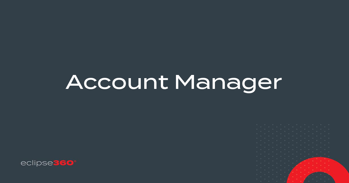 Eclipse360 Account Manager